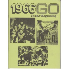 1966 GO In The Beginning (USA) 60's Articles and Ads Fanzine