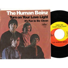 HUMAN BEINZ Turn On Your Love Light (Capitol) USA 1967 PS 45