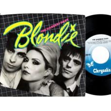 BLONDIE The Hardest Part (Chrysalis) USA 1979 PS 45