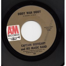 CAPTAIN BEEFHEART AND HIS MAGIC BAND Diddy Wah Diddy (A&M) USA 1966 45
