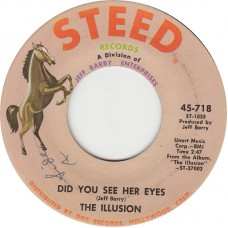 ILLUSION Did You See Her Eyes (Steed) USA 1969 45
