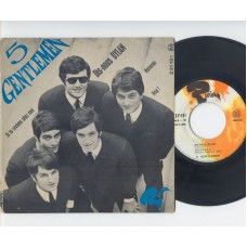 5 GENTLEMEN Dis-Nous Dylan +3 (Riviera) French PS EP