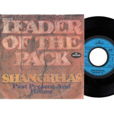 SHANGRI-LAS Leader Of The Pack / Past Present and Future (Mercury 6052079) Germany 1971 PS 45