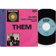 THEM Gloria / Baby Please Don't Go (Decca 7204) Australia CS 45