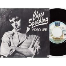 CHRIS SPEDDING Video Life / Frontal Lobotomy (EMI 62462) Germany 1979 PS 45