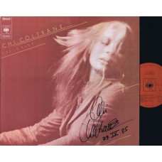 CHI COLTRANE Let It Ride (CBS) Holland 1973 Autographed LP