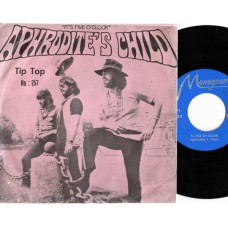 APHRODITE'S CHILD It's Five O'Clock (Monogram) Iran 1970 PS 45