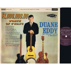 DUANE EDDY A Million Dollars Worth Of Twang (London) UK 1961 LP