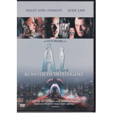 A.I. ARTIFICIAL INTELLIGENCE - 2002 (Many Subtitles on/off) DVD