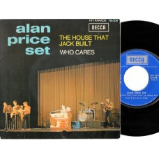 ALAN PRICE SET The House That Jack Built (Decca) French PS 45