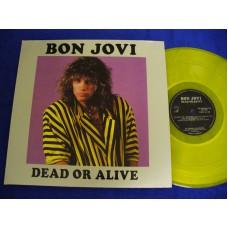 BON JOVI Dead Or Alive (Swingin' Pig) Luxembourg 2LP Set