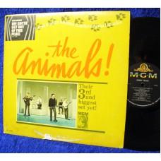 ANIMALS Animal Tracks (MGM E 4305) USA 1965 Mono LP