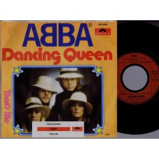ABBA Dancing Queen / That's Me (Polydor 2001680) Germany 1976 PS 45