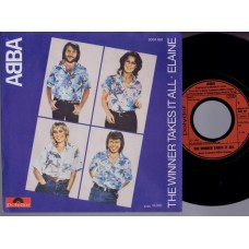 ABBA The Winner Takes It All / Elaine (Polydor 2001981) Germany 1980 PS 45