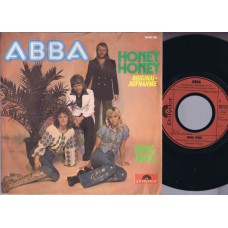 ABBA Ring Ring / Honey Honey (Polydor 5040120) Germany 1974 PS 45