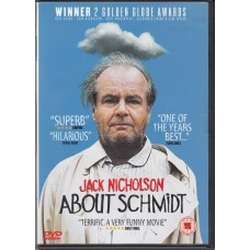 ABOUT SCHMIDT - 2002 movie with Jack Nicholson DVD