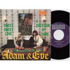 ADAM & EVE Sweet Sweet Love (Bellaphon BL 1046) Germany 1967 PS 45