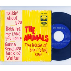 ANIMALS House Of The Rising Sun +3 (La Voz De Su Amo) Spain 1964 PS EP