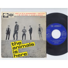 ANIMALS Is Here / Don't Let Me Be Misunderstood / Take It Easy / I'm Crying (His Master's Voice) Spain 1965 PS EP