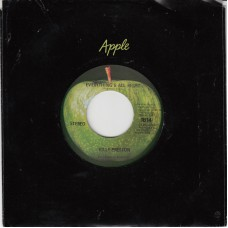 Apple 1814 BILLY PRESTON Everything's All Right USA CS 45