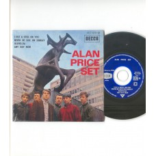 ALAN PRICE SET I Put A Spell On You +3 (Decca) French EP CD