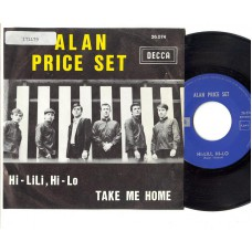 ALAN PRICE SET Hi-Lili, Hi-Lo (Decca) Belgium PS 45