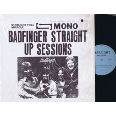 BADFINGER Straight Up Sessions (Starlight) USA Fanclub LP
