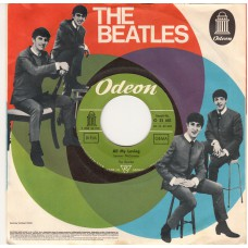 BEATLES All My Loving / I Wanna Be Your Man (Odeon O 22681) Germany 1964 PS 45