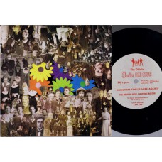 "BEATLES 5th Christmas Flexi record: Christmas Time (Fan Club) UK 1967 7"" PS Flexi"