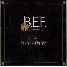 B.E.F. Music Of Quality And Distinction: Volume One (Virgin) UK