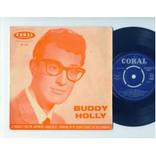 BUDDY HOLLY It Doesn't Matter Anymore +3 (Coral) UK PS EP