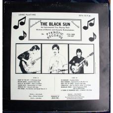 BLACK SUN ENSEMBLE (Pyknotic) USA 1985 LP