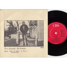 BRUCE SPRINGSTEEN My Hometown (CBS) UK 1985 PS 45