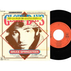 BRUCE SPRINGSTEEN Glory Days (CBS) Japan PS 45