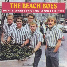 BEACH BOYS Today & Summer Days (Sea Of Tunes) Luxembourg 1999 CD