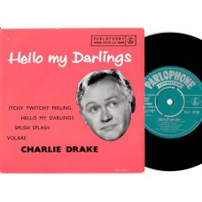 CHARLIE DRAKE Hello My Darlings EP (Parlophone) UK 1958 EP