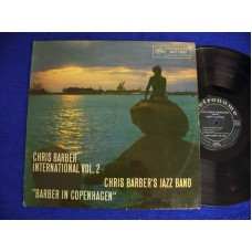 CHRIS BARBER Barber In Copenhagen (Metronome) Denmark 1960 LP