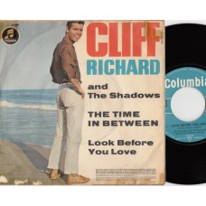 CLIFF RICHARD AND THE SHADOWS The Time In Between (Columbia) Germany PS 45