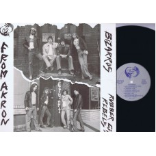BIZARROS / RUBBER CITY REBELS From Akron (Close) USA 1977 LP