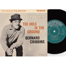 BERNARD CRIBBINS The Hole In The Ground EP (Parlophone) UK PS EP