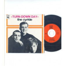 CYRKLE Turn Down Day +3 (CBS) French EP CD