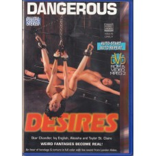 DANGEROUS DESIRES Bondage Slut DVD