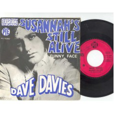 DAVE DAVIES Susannah's Still Alive (PYE) French PS 45 (Kinks)