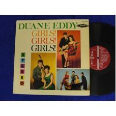 DUANE EDDY Girls! Girls! Girls! (Jamie) USA 1961 Stereo LP