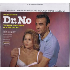 JAMES BOND Dr. No (United Artists) USA 1968 Mono Soundtrack LP