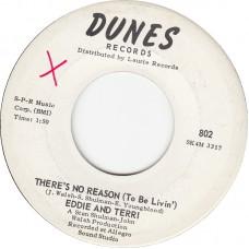 DUNES 802 EDDIE AND TERRI - There's No Reason USA 1960 45
