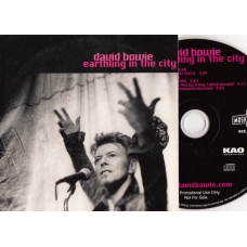 DAVID BOWIE Earthling In The City (DavidBowie) USA 1997 Promo CD