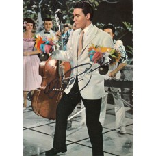 ELVIS PRESLEY Photo (Autographed)