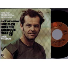 JACK NITZSCHE One Flew Over The Cuckoo's Nest (Fantasy 760) USA 1976 PS promo 45 (Jack Nitzsche Orchestra)