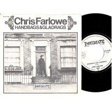 CHRIS FARLOWE Handbags Acd Gladrags / Everyone Makes A Mistake (Immediate 23668) Germany PS 45